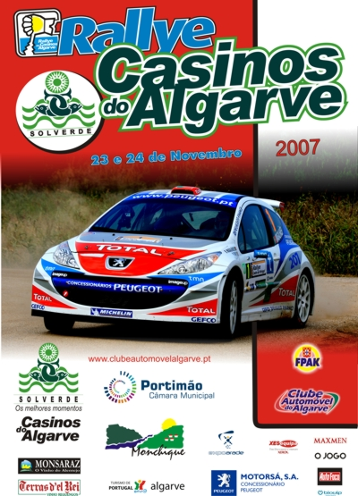 Rallye Casinos do Algarve 2007